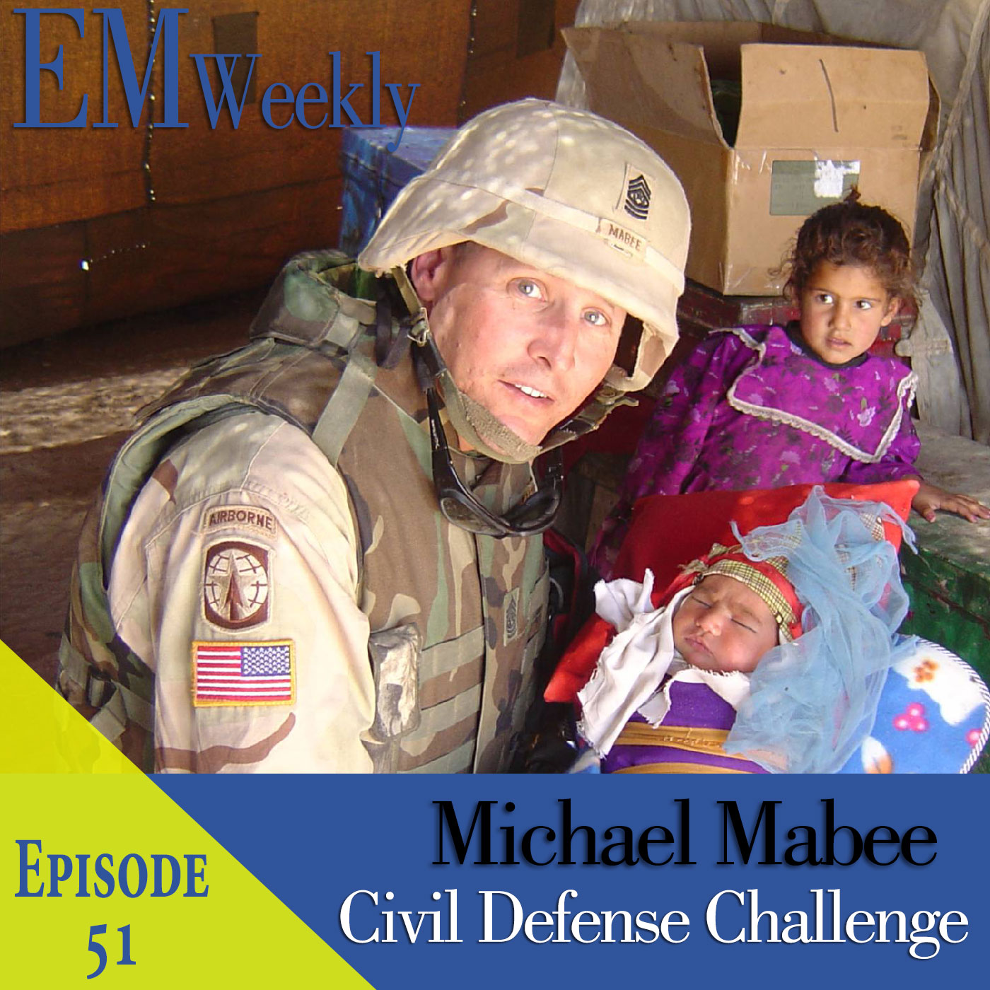 Michael Mabee on Civil Defense